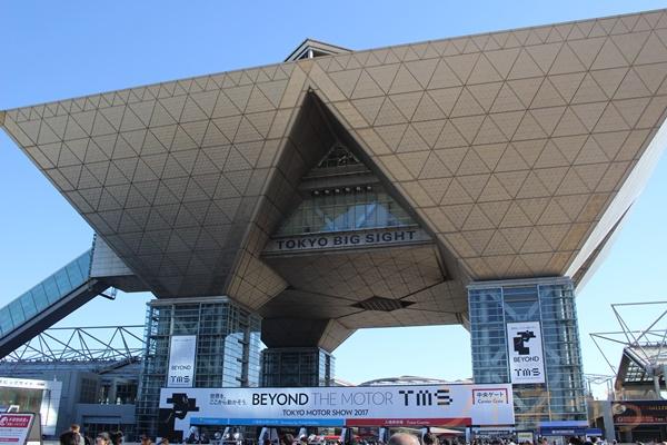 ビッグサイトで行われた東京モーターショー2017